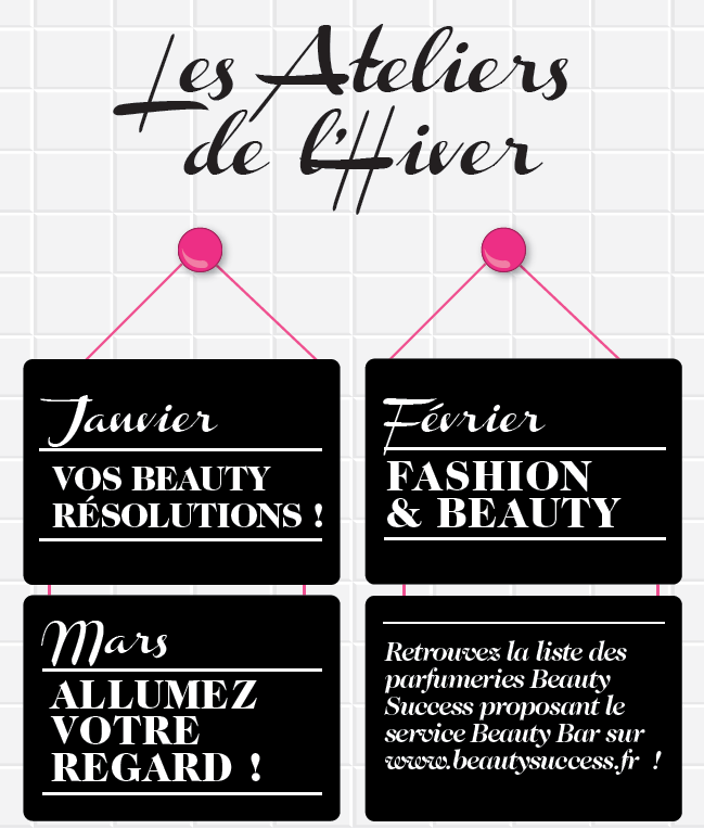 Beauty Bar invitation semestre 1