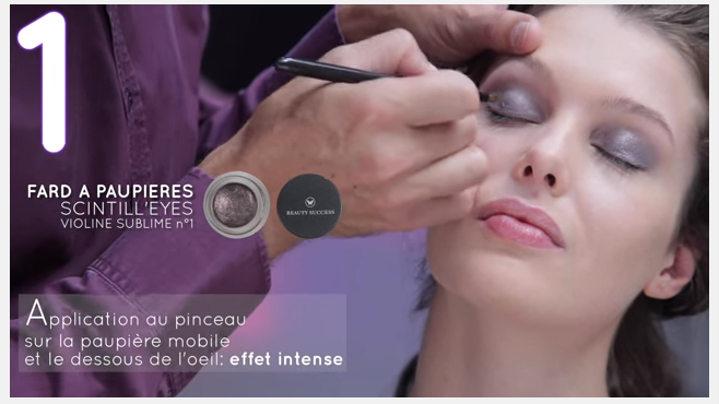 Capture Making Of Collection Beauty Success Automne Hiver 2015